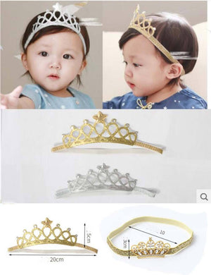 Soft Princess Crown Newborn Photography Props Shopbackdrop