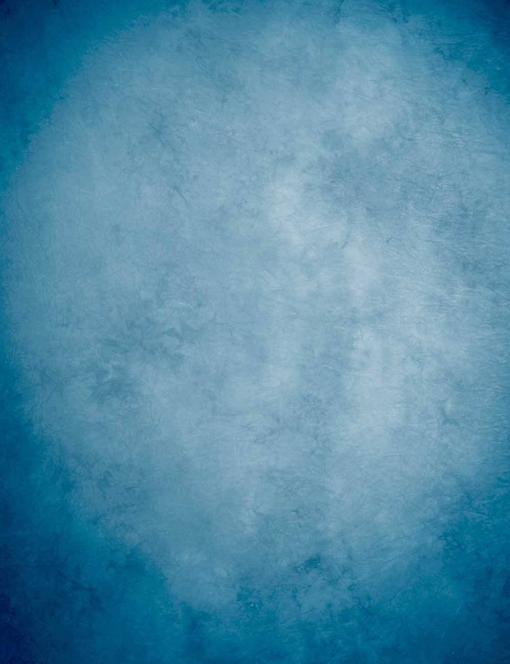 Steel Blue Old Master Printed Lighter Center Color Backdrop For Photography - Shop Backdrop