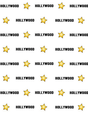 Step And Repeat Hollywood Start Custom Photography Backdrop lv-078
