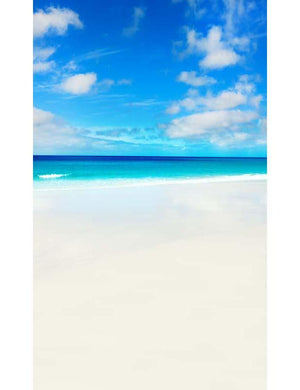 Summer Holiday Seascape Backdrop For Childern Photography F-2607