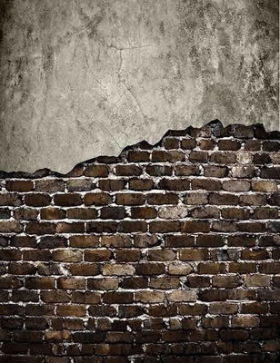 Ugly Senior Brick Wall Texture For Photography Backdrop