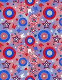 USA Flags Pinwheel For Celebrate Independence Day Fabric Backdrop Photography