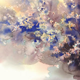 Watercolor Painted Color Flower Photography Backdrop N-0045
