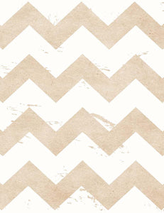 White And Pale Ocre Chevrons Texture Photography Backdrop J-0454