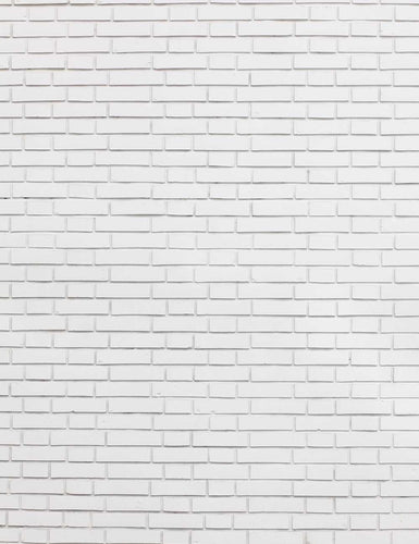 White Brick Wall Texture Vision Photography Backdrop