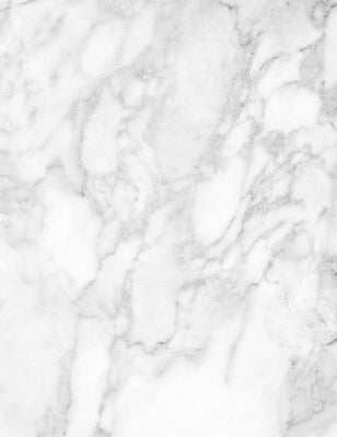 White Marble With Gray Texture Photography Backdrop J-0065