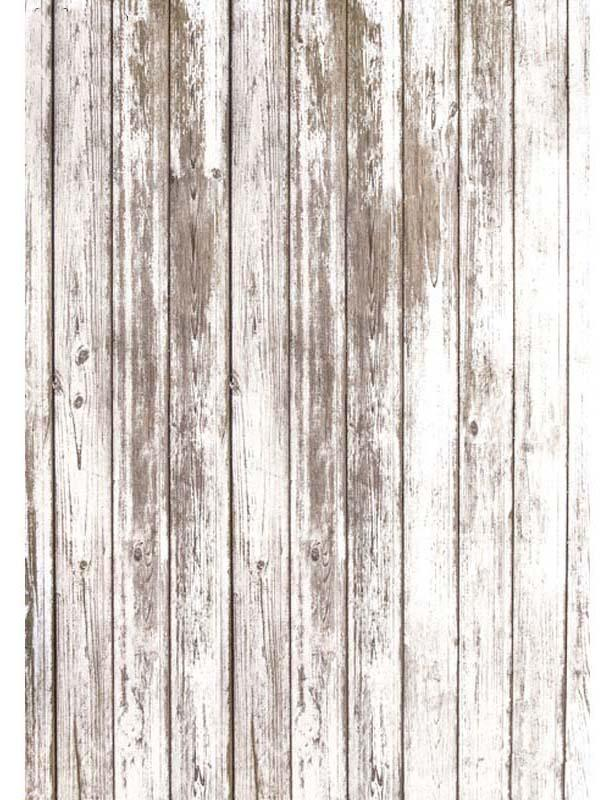 White Paint Peeling Grunge Wooden Floor Mat Texture Photography Backdrop Floor-747