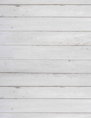 White Printed Wood Floor Texture Backdrop For Photography
