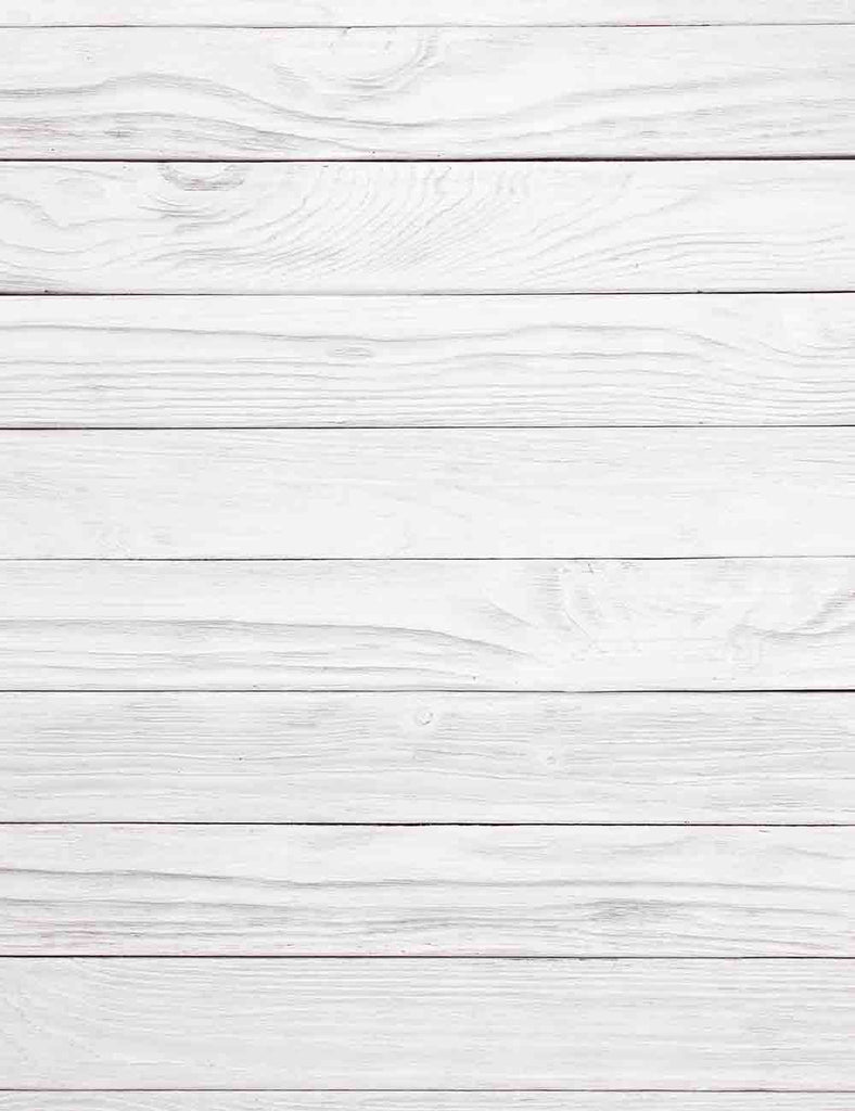White Smoke Wood Floor Mat Texture Photography Backdrop Q-0610