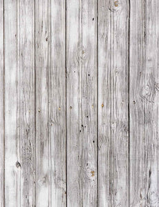 White Wood Texture With Natural Pattern Photography Backdrop J-0683