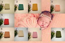 Wool Wraps With White  Dots Cotton Newborn Photo Props - Shop Backdrop