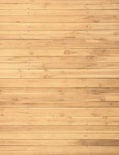 Yellow Printed Wood Floor Texture Mat Backdrop For Photography