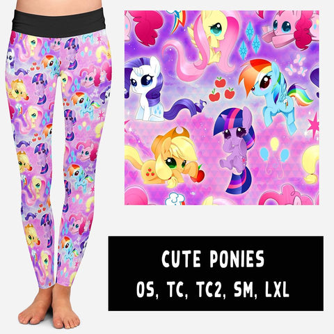 Cute Ponies (kids sizes available)