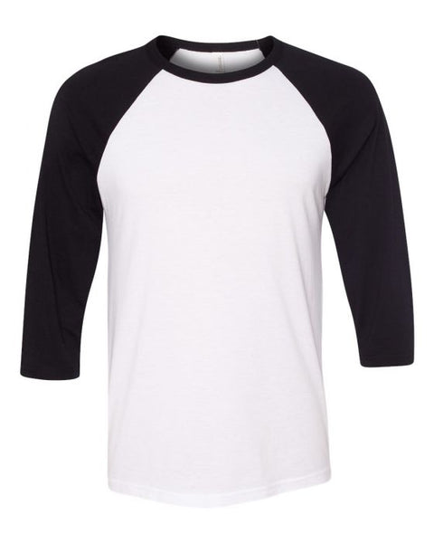BASEBALL mom RAGLAN (other colors and white short sleeve available)
