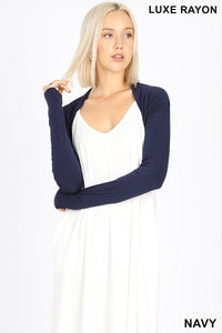 Long sleeve bolero Navy