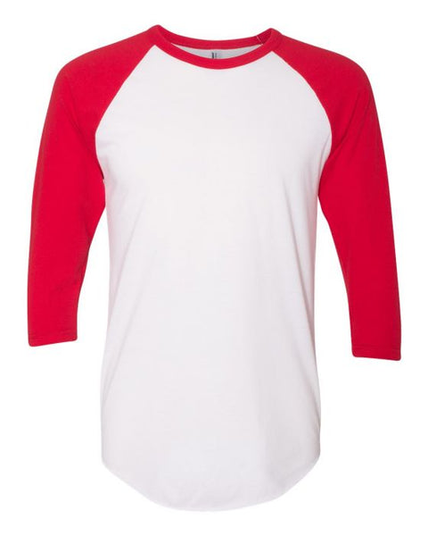 HOCKEY mom RAGLAN (other colors and white short sleeve available)