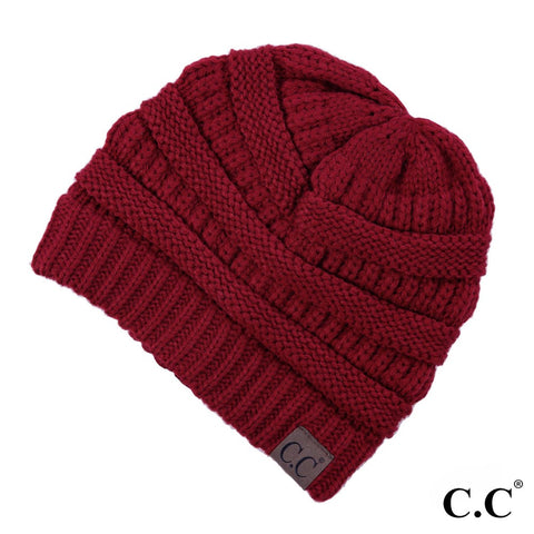 "C.C.""the original"" beanie red"