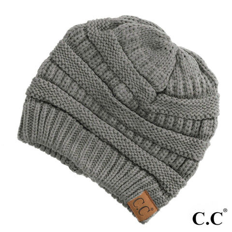 "C.C.""the original"" beanie gray"