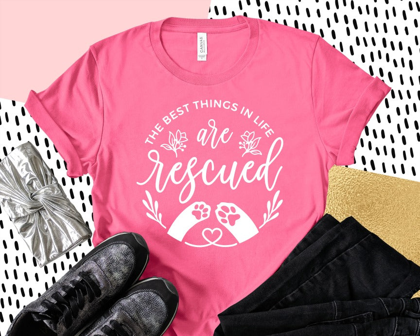 Rescued! (more colors and Hoodie available)
