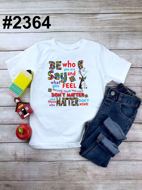 Be who you are (kids, Raglan & more colors available)