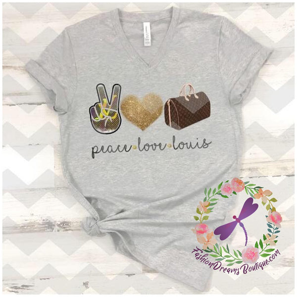 Peace Love Louis (more colors and Hoodie! available)