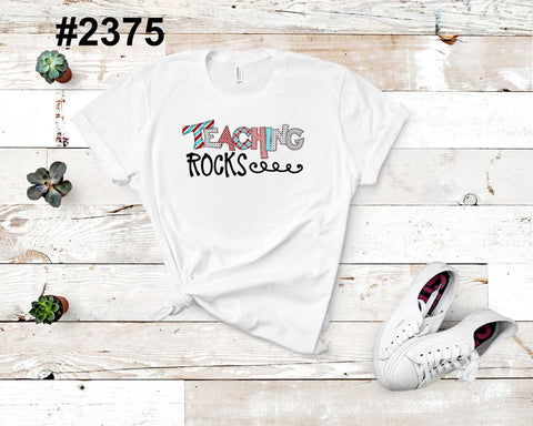 Teaching rocks (kids, Raglan & more colors available)