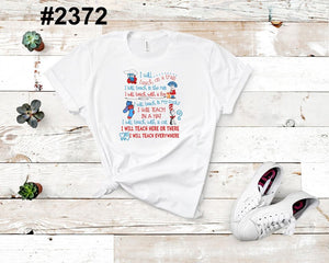 I will teach you on a train (kids, Raglan & more colors available)