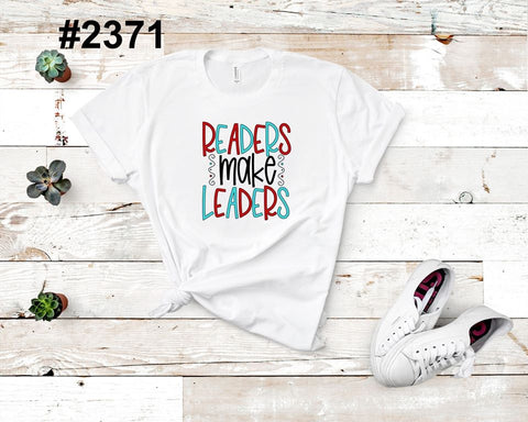 Readers make leaders (kids, Raglan & more colors available)