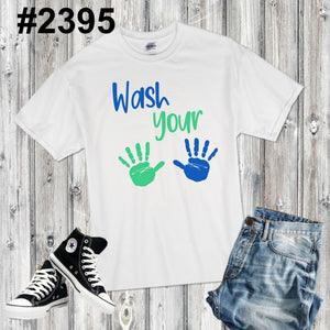 Wash your hands (available in RAGLAN too!)