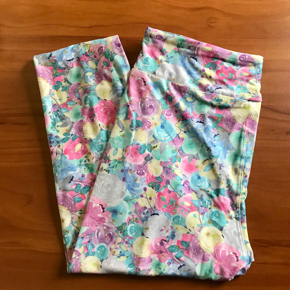 Pastel flowers💐leggings
