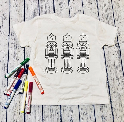 Nutcrackers🎄Color it!(kids & Raglan available)