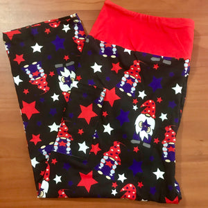 American gnomes leggings (available in capri)