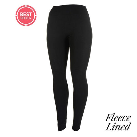 Fleece lined Black leggings