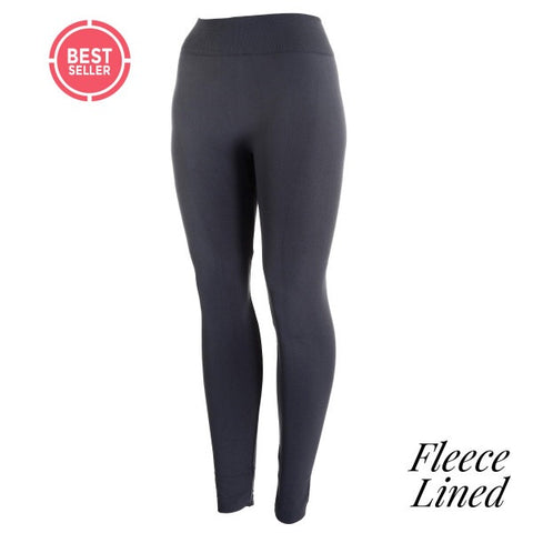 Fleece lined Gray leggings