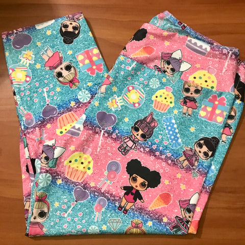 Surprise dolls leggings