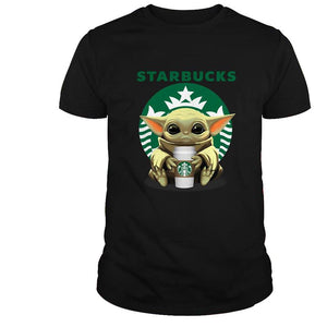 Starbucks Yoda (more colors and Hoodie! available)