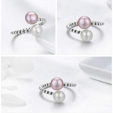 Pearl Essence Silver Ring