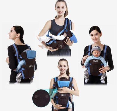 4 in 1 Convertible Baby Carrier-babies infant backpack hip carrier kangaroo pouch-The Exceptional Store