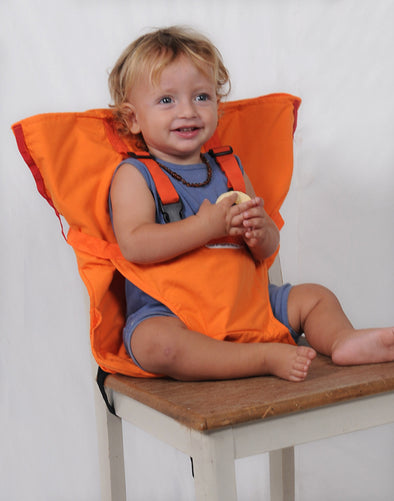 Anywhere High Chair-Child safety 5 point harness-The Exceptional Store