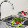 Collapsible Kitchen Colander-easy storage adjustable strainer-The Exceptional Storage