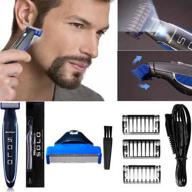 SOLO Rechargeable Smart Razor-shaving men grooming beard trimmer-The Exceptional Store
