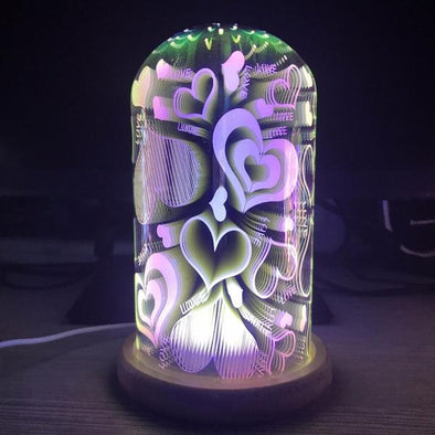 3D Illusion Night Light-atom lamp desk table home decor-The Exceptional Store