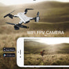 Professional FPV Drone 4K Dual Camera-quadcopter rc drones aerial photography toy folding drone ultra hd 4k photo video fly aircraft remote control-The Exceptional Store