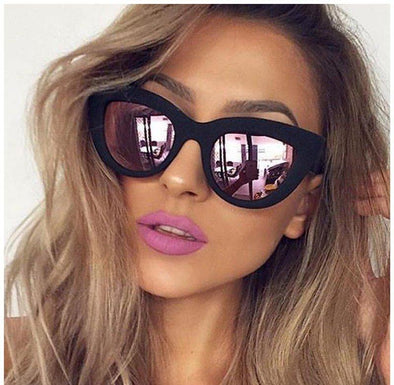 Retro Fat Cat Sunglasses-women fashion womens sunglasses trendy hot stylish-The Exceptional Store