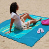 Magic Beach Mat-sand free beach towel park picnic waterproof-The Exceptional Store