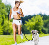 Hands Free Dog Leash-dog walk run waist belt leash-The Exceptional Store
