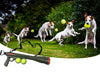 Dog Ball Cannon-dog toy fetch bazook-9 K-9 kannon tennis ball launcher-The Exceptional Store