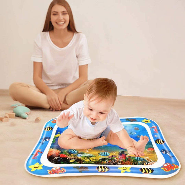 Tummy Time Baby Play Mat-baby-water-play-mat-tummy-time-toys-for-newborns-toddler-fun-activity-mat-infant-toys-baby development- baby learning-The Exceptional Store