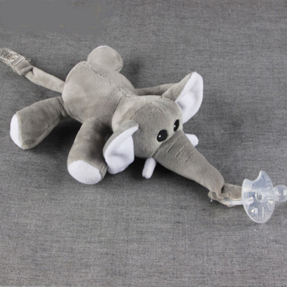 Cuddly Animal Pacifier Holder