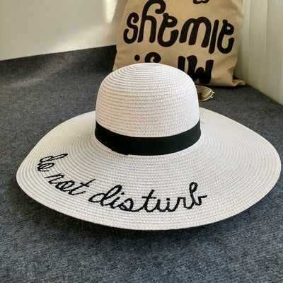 Do Not Disturb Sun Hat-women's beach hat womens sun hat-The Exceptional Store